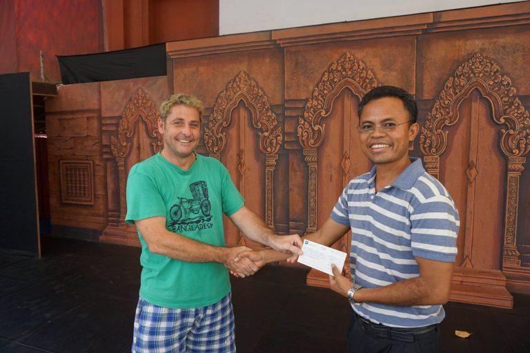 RED donates $1,500 to Cambodia Living Arts